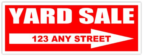 yard sale ad examples inspirational for sale sign template microsoft