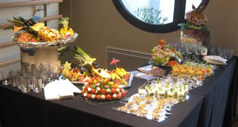 Decoration Buffet Froid Mariage by Decoration De Table Pour Buffet Froid