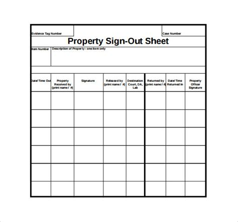 key sign out form template sign out sheet template 14 free word pdf documents