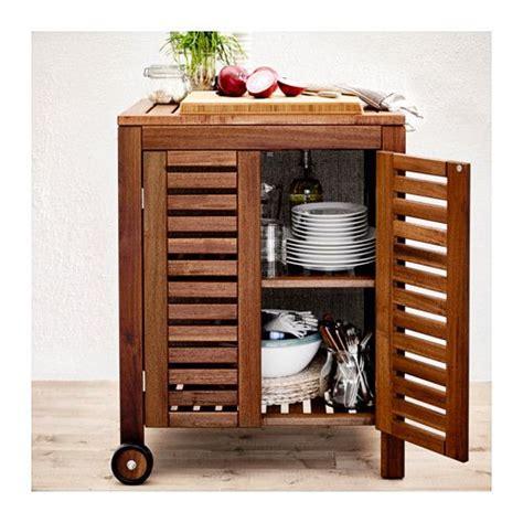 ikea klasen 196 pplar 214 klasen storage cabinet outdoor brown stained 77 x