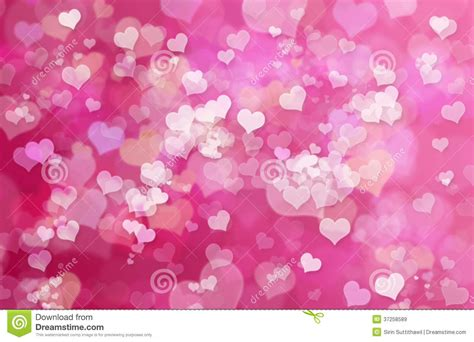 pink valentines day hearts abstract pink background valent royalty