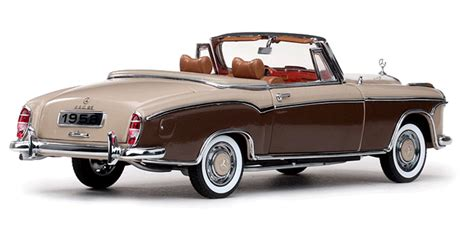 mercedes benz se convertible diecast model