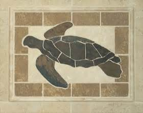 custom turtle tile mosaic shower stained glass amp mosaics