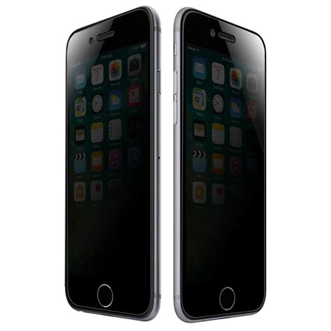 amzer privacy tempered glass hd screen protector for iphone 7 plus