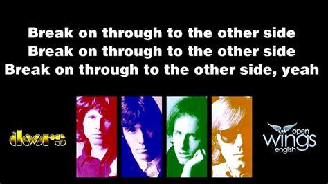 The Doors On Through Lyrics by On Through Lyrics The Doors Tanulj Angolul