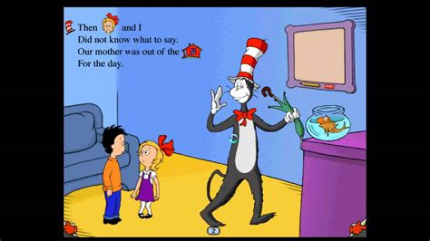 cat in the hat games dont jump on the couch dr seuss reading games cat in the hat pc part 1 youtube