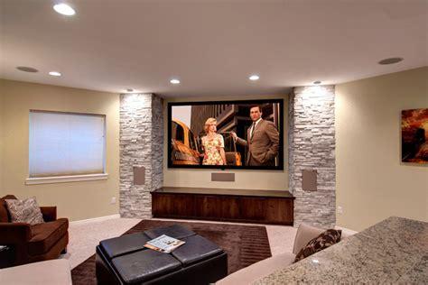 basement home theater transitional basement denver