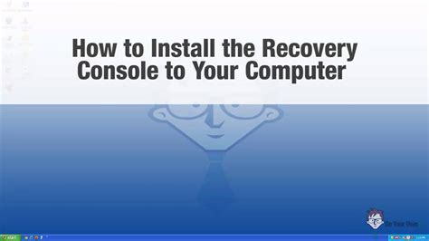 microsoft windows recovery console how to install and run the microsoft windows xp recovery
