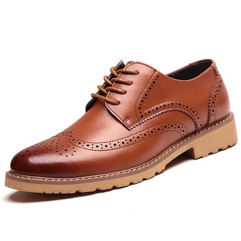 Genuine Leather Oxfords genuine leather oxfords office shoes italian shoes for