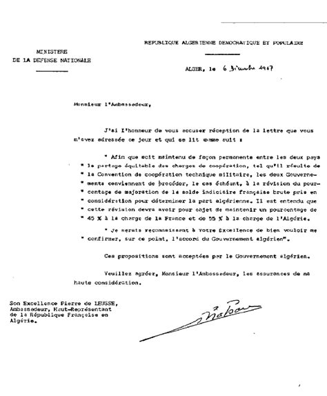 Exemple De Lettre Administrative Courant Modele Lettre Administrative Algerie