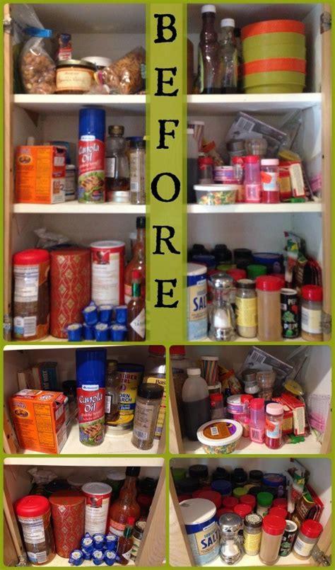 Organized Kitchen Cabinet: Spices