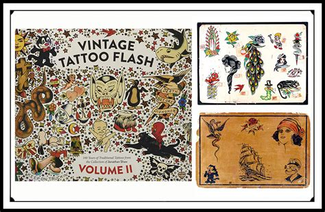 vintage tattoo flash jonathan shaw vintage tattoo flash tattoo collections