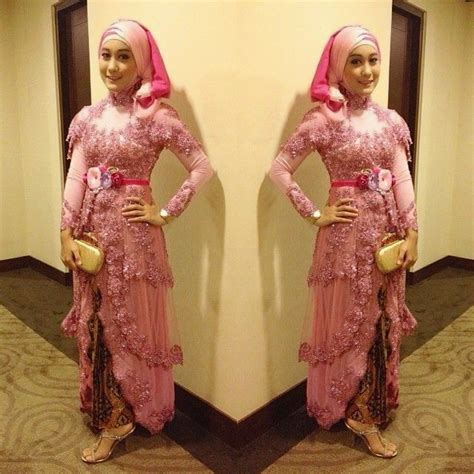 tutorial hijab kebaya anak muda 37 best images about gamis pesta on pinterest wedding