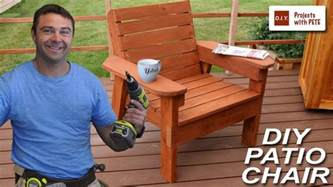 how to build patio chairs how to build a patio chair diy outdoor chair build