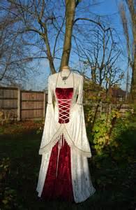 Celtic Wedding Dresses Medieval Wedding Gown Dress Celtic Renaissance Avail In Sizes