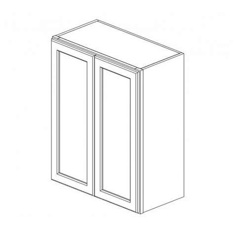 Rta Cabinet Doors W2442b White Shaker Wall Door Cabinet Rta Rta Kitchen Cabinets
