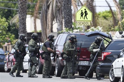 Officer In San Diego by The Suspect Named In San Diego Shootings