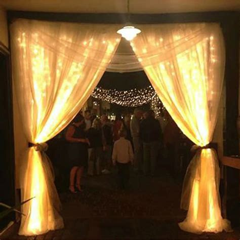 outdoor icicle lights outdoor decoration 3m x 1m curtain icicle string