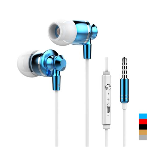 Headset Earphone Erapods Aplle Iphone 5 6 Original 100 original stereo bass earphone headphones metal headset 3 5mm earbuds for apple iphone