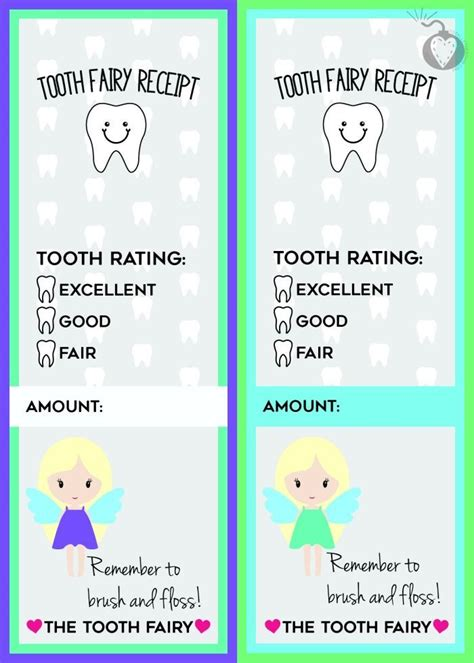 tooth receipt template 17 best images about tooth on free