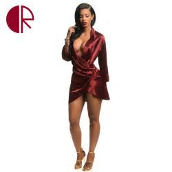 popular satin wrap dress buy cheap satin wrap dress lots