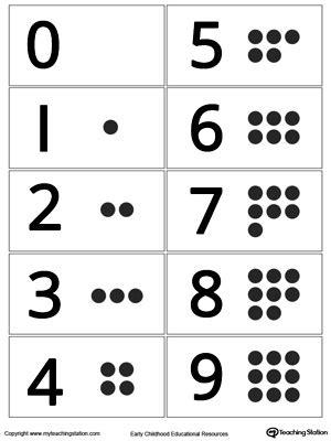 printable numbers and dots preschool numbers printable worksheets myteachingstation com