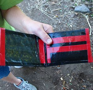 Cassette Wallets Because We All Miss The 90s Sometimes by Duct Wallets Allfreekidscrafts
