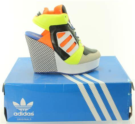 womens adidas streetball platform wedge originals choice