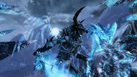 ps4 themes corrupted dextra the corrupted ice dragon guild wars 2