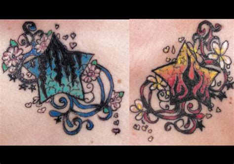 fire and ice tattoo 1000 images about wishful inking on