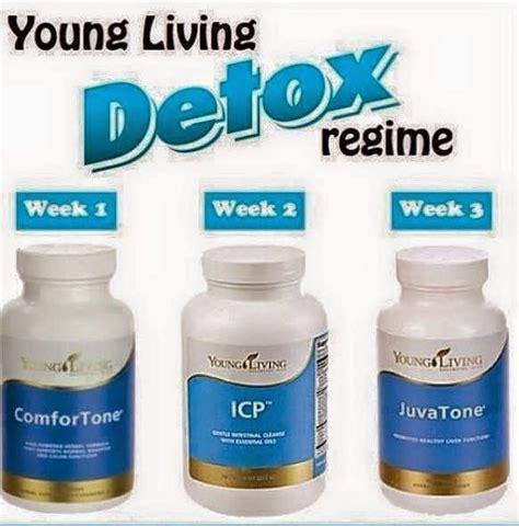 Younng Living Detox by Living Detox Week 1 Comfortone Week 2 Icp Week