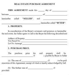 simple purchase agreement template real estate purchase agreement 7 free pdf