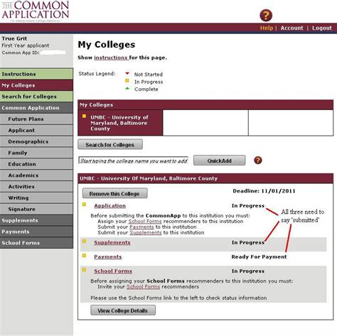Letter Of Recommendation Common App common app umbc admissions counselors