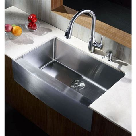 33 inch stainless steel farmhouse sink 33 inch stainless steel curved front farm apron single