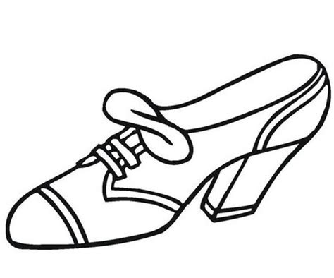 imagenes de zapatos infantiles para colorear zapatos de tacon para colorear