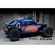 HOT WHEELS Custom Painted Axial Exo Terra  VW Baja Bug YouTube