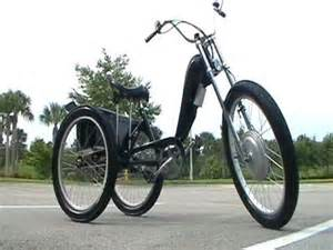 solar powered bicycle lights electric chopper trike youtube