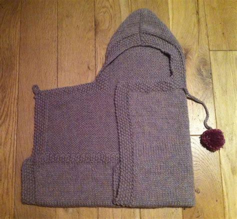 Stitch Me Softly Baby Snuggle Wrap Knitting Pattern
