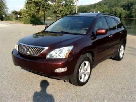 2008 Lexus Rx350 Review by 2008 08 Lexus Rx350 Rx 350 Personal Used Car Review At 55k