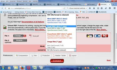 tutorial merubah pdf ke excel tutorial artikel tik 187 cara merubah file pdf ke ms excel