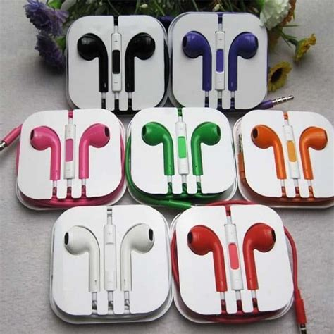apple headphones colors iphone 5 earphones colors www pixshark images