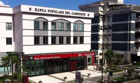 banche frosinone popolare cassinate al primo posto tra le banche