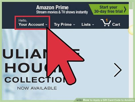 Amazon Apply Gift Card To Account - 3 ways to apply a gift card code to amazon wikihow