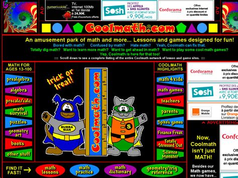 Coo Mat by Information About Coolmath Cool Math Free