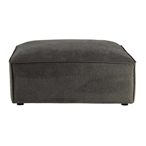 pouf divani pouf per divano grigio talpa modulabile in tessuto malo