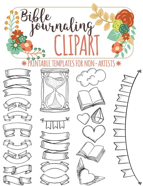 printable scripture journal 21 printable templates for bible journaling verse art