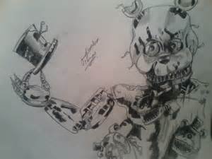 five nights at freddy s coloring book great coloring pages for and adults unofficial edition books dibujando al nuevo freddy nightmare drawing nightmare