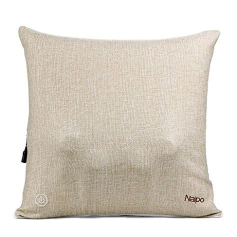 cuscini massaggianti per naipo cuscino massaggiante per schiena senza fili