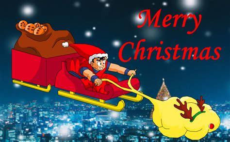 imagenes goku navidad goku y vegeta feliz navidad y a 241 o nuevo