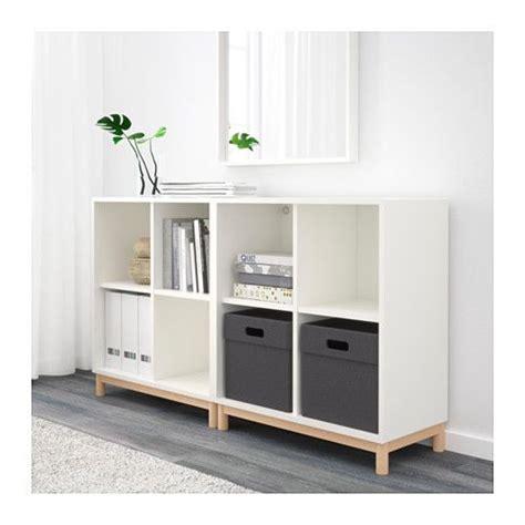 besta untergestell eket cabinet combination with legs white storage ikea